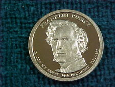 51 - 2010 S FRANKLIN PIERCE PRESIDENTIAL DOLLARS  PROOF ---LOT ---