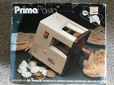 NEW Vintage PrimaPasta From Italy Electric Automatic Pasta & Noodle Maker Prima