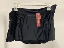 Merona Women's Black Swim Skirt Size XL