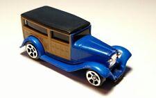 Vintage Maisto Fresh Metal 1932 Ford Woody Wagon Blue