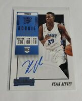 R40,088 - KEVIN HERVEY - 2018/19 PANINI CONTENDERS - ROOKIE AUTOGRAPH - THUNDER