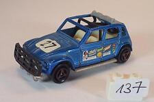 Majorette 1/60 Nr. 231 Citroen Dyane Rallye blaumetallic Startnummer 27 #137