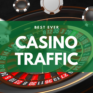 Casino Traffic from popular online gambling sites to your website for 1 month!