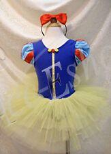 Kid Girls Gymnastics Ballet Dress Leotard Tutu Skirt Party Dancers Wear Costume