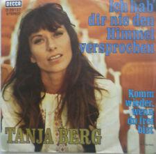 """7"""" 1971 VG+++! TANJA BERG Komm wieder wenn Du frei bist"""