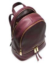 96e13510934010 Genuine Michael Kors Rhea Backpack merlot Medium bag sales
