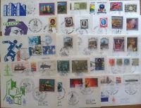 FDC Venetia - Italia Repubblica - Annata 1977 completa - 27 buste viaggiate ***