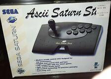 Ascii Saturn Stick Sega Saturn Controller Pad 8 Button Arcade Fighting