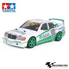 Tamiya 1 10 RC MB 190E miniatura Zakspeed Tt-01e Car kit modelo Mercedes Benz