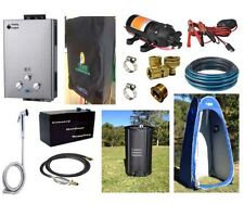 COUNTRY COMFORT LPG GAS HOT WATER HEATER CAMP SHOWER 4WD INSTANT DEL COMP. COMBO