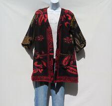 Kimono Jacket|Bohemian|Boho|60's|Designer|3/4 Style|Handmade|Yak Wool Blend|M-L