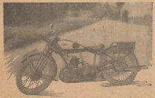 Y9943 Moto MATCHLESS 250 cmc. - Pubblicità d'epoca - 1928 Old advertising
