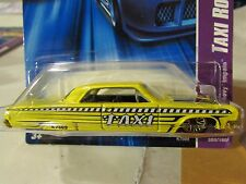 Hot Wheels Taxi Rods 1964 Chevy Impala Yellow