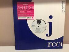 "ANGIE STONE - I Wasn't Kidding 12"" House Vinyl (US) 2005 EXC"