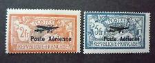 FRANCE 1927 Poste aérienne n° 1 et 2 Neuf* - MH - TB Signé