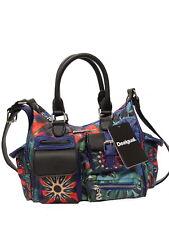Schicke Desigual Handtasche Schultertasche Bols Indian Glactic London Mini