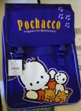 Vintage Sanrio 2001 Pochacco Super Pup Purple Travel Backpack School Bag Nwt
