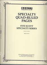 Pkg. of 20 Scott ACC111 Specialty Quad-Ruled Pages