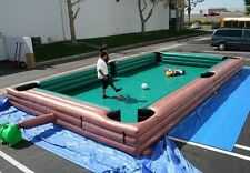 INFLATABLE FOOTBALL POOL TABLE SNOOKER 7.8M X 4.8M