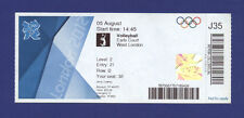 Orig.Ticket    Olympic Games LONDON 2012 -  VOLLEYBALL   ITALY - RUSSIA  !!