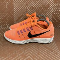 NIKE LUNARTEMPO WOMEN'S 9.5 CITRUS/BLACK RUNNING SHOES 705462-800 SNEAKERS