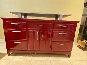 Red Buffet/Media Console