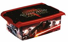 Coffre à jouets à boîte Fashion-Box DISNEY STAR WARS 10 L, noir space