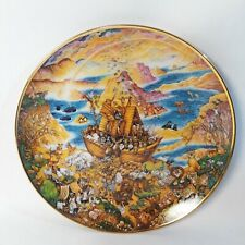 Limited Edition, Franklin Mint Collectible Two By Two Bill Bell Plate
