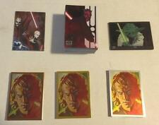 2012 STAR WARS GALAXY 7 MASTER SET (170) Base/Etched/Cell/SILVER/BRONZE/GOLD NM