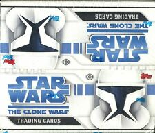Star Wars The Clone Wars Factory Sealed Hobby Box