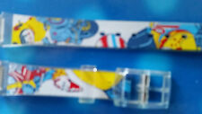 BRACELET MONTRE PVC  COLORE  /////// / 12MM  / REFJR50