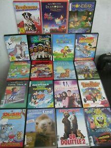19x Schöne Kinder DVD Sammlung Kinderfilme Trickfilme Märchen    u.a. (20)