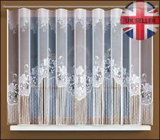 String net curtains ready to hang up WHITE 150x300(cm) with curtain tape!
