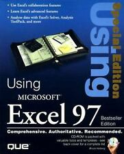 """""""Special Edition Using Microsoft Excel 97, Best Seller Edition"""" (2nd-ExLibrary"""