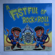 A FISTFUL OF ROCK N' ROLL VOLUME 4 - VARIOUS * LP VINYL * FREE P&P UK * CAR 013