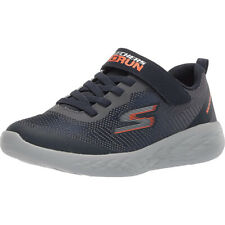 Skechers GO RUN 600 FARROX Kinder Jungen Sneakers Blau