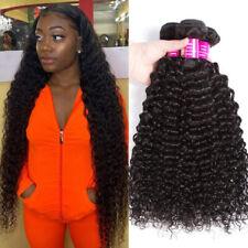10A Brazilian Kinky Curly Bundles 100% Virgin Jerry Curl Human Hair 3 Bundles 1B