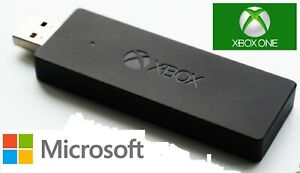 Official Wireless Xbox One Controller Adapter USB Receiver Microsoft Windows PC