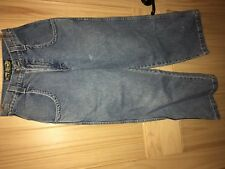 Vintage JNCO flamehead jeans in youth size 12