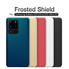 Case For Samsung Galaxy S20 Ultra Nillkin Frosted Shield Matte Slim Hard Cover
