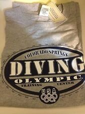 "Colorado Springs: ""Diving"" Olympic Training Center. Tee XXL"
