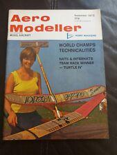 Aero Modeller November 1973 magazine - vintage hobby model aircraft