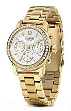 COACH - Ladies Legacy Gold-Tone Small Sport Watch - 14501883