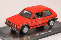 VOLKSWAGEN GOLF Mk1 GTI in Red 1/32 scale model by Burago