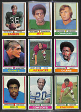 1974 topps football cards- $1 ea - VG or EX - you pick #s 3 4 6 7 8 9 up to 528.