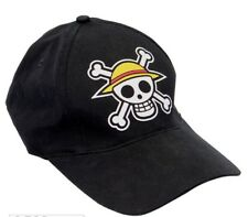 Hat One Piece Luffy Skull Logo Black Cap Hat ABYstyle