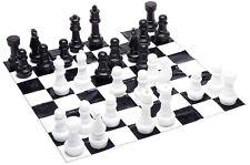 Giant Mat Chess Set Large Folding Board Game Portable Lawn Picnic Travel Q