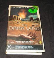 THE DARK WIND VHS PAL PREMIERE LOU DIAMOND PHILLIPS