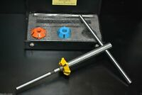 VALVE SEAT CUTTER  SET CARBIDE TIPPED VINTAGE SMALL BLOCK ENGINES CHEVY,FORD,BUK