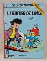 Le Scrameustache - Tome 1 - L'HERITIER DE L'INCA - GOS - Edition spéciale DUPUIS